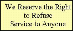 we reserve